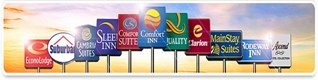 choice hotels pet friendly austin road signs logo link to affiliate site